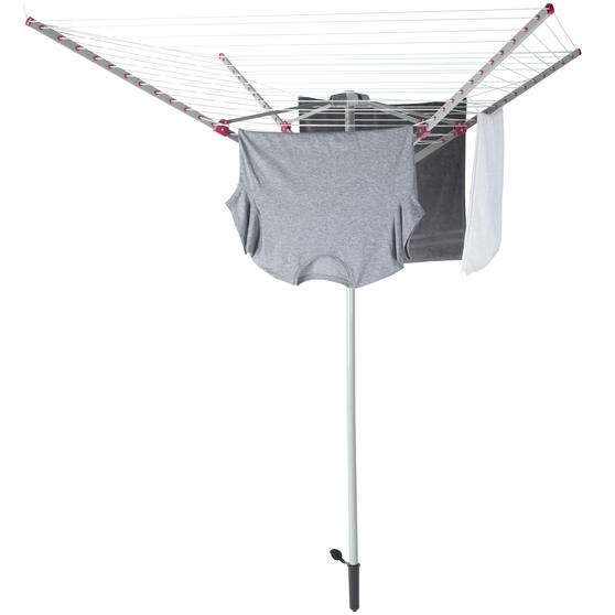 Rotary Outdoor Clothes or Garment Airer, 60 Metre Drying Space, Holds up to 15 KG