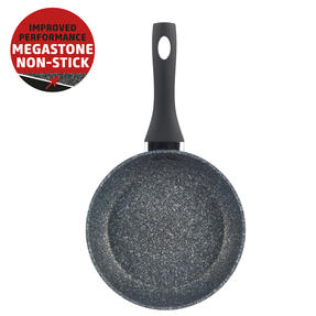 Salter® COMBO-6069 Megastone Collection Non-Stick Forged Aluminium Frying Pan, 20 cm, Silver, Set of 6 | Ideal for Schools, Catering & Student Homes Thumbnail 2