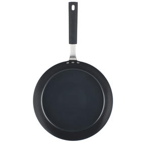 Salter® COMBO-6073 Carbon Steel Pan for Life Frying Pan, 28 cm, Black, Set of 6 | Ideal for Schools, Catering & Student Homes Thumbnail 2