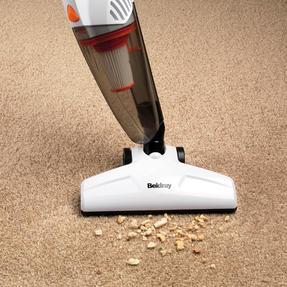 Beldray BEL0645FSFOB 2 in 1 Multifunctional Vacuum Cleaner, White/Orange Thumbnail 5