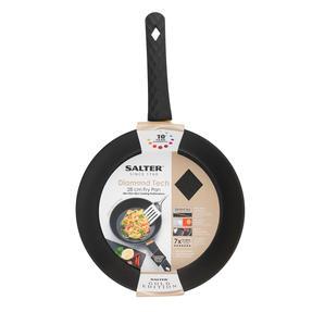 Salter® COMBO-6186 Diamond Tech Gold Edition Non-Stick Stir Fry Pan and Frying Pan Set | 28 cm | 2 Piece | Induction Suitable | Metal Utensil Safe Thumbnail 5