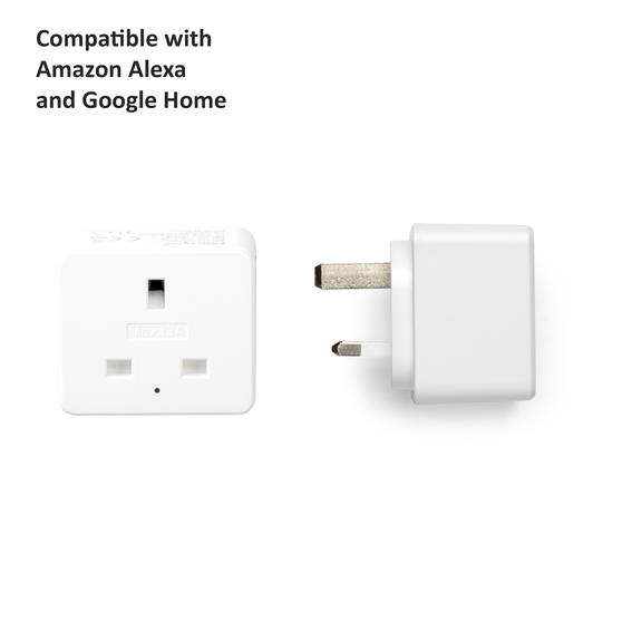 Intempo® EE5010EHTSTKEU Home UK 3 - Pin Smart Plug, White
