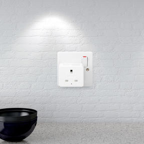 Intempo® EE5010EHTSTKEU Home UK 3 - Pin Smart Plug, White Thumbnail 2