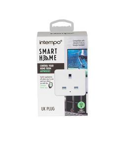 Intempo® EE5010EHTSTKEU Home UK 3 - Pin Smart Plug, White Thumbnail 3