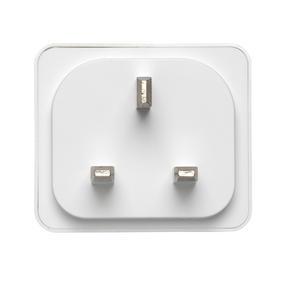 Intempo® EE5010EHTSTKEU Home UK 3 - Pin Smart Plug, White Thumbnail 7