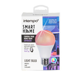 Intempo® EE5013WHTSTKEU Smart Light Bulb, 7 W,  RGB and White Thumbnail 7
