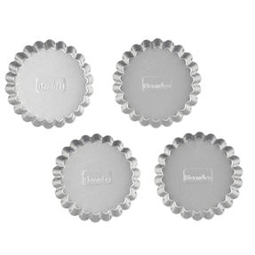 Berndes P501431 Non Stick Tartlet Tins, Set of 4, 12.5 cm Thumbnail 2