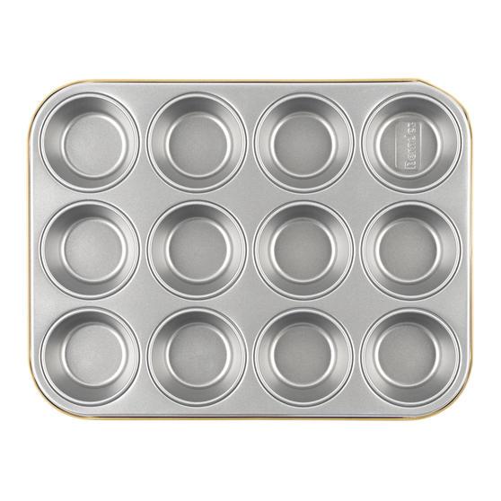 Berndes P501438IT Non-Stick 12 Cup Muffin Tray, 36 cm