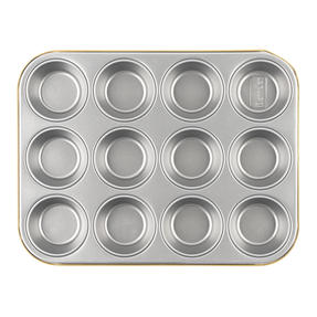 Berndes P501438IT Non-Stick 12 Cup Muffin Tray, 36 cm Thumbnail 1