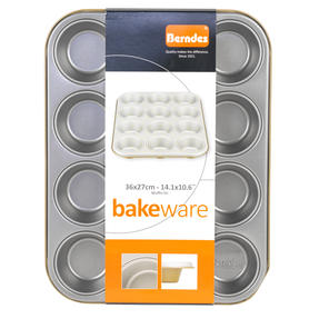 Berndes P501438IT Non-Stick 12 Cup Muffin Tray, 36 cm Thumbnail 3