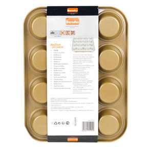 Berndes P501438IT Non-Stick 12 Cup Muffin Tray, 36 cm Thumbnail 4