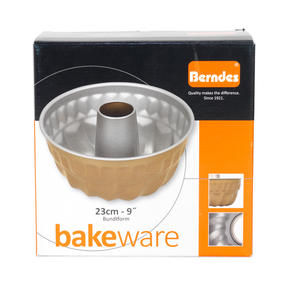 Berndes P502040IT Non Stick Bundt Form Pan with Kugelhupf Shape Mould, 23cm Thumbnail 3