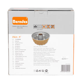 Berndes P502040IT Non Stick Bundt Form Pan with Kugelhupf Shape Mould, 23cm Thumbnail 4