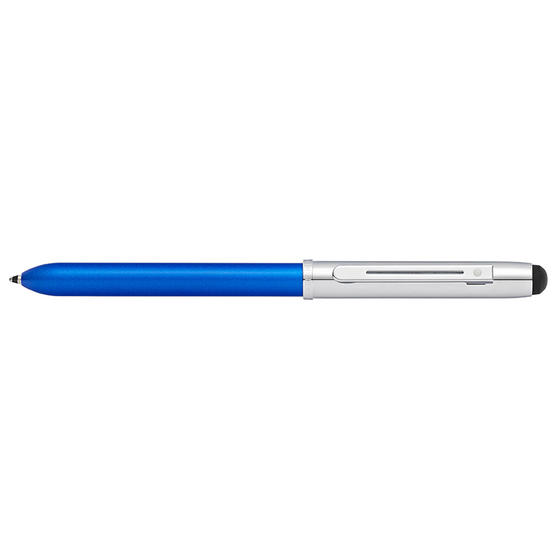 Sheaffer E8937354 Quattro Ballpoint Multipen | Multi-functional | Stylus Feature | Medium Tip | Black, Blue, Red Ink | Blue