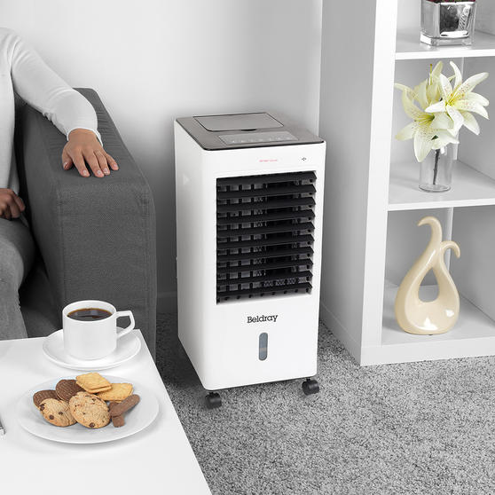 Beldray 4 in 1 Multifunctional Air Cooler and Heater | Heats, Cools, Purifies & Humidifies | 3 Fan Settings, Swing Function, Air Purifier | 6 L | 65/2000 W Thumbnail 2