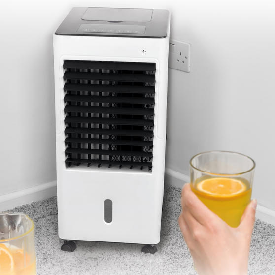 Beldray 4 in 1 Multifunctional Air Cooler and Heater | Heats, Cools, Purifies & Humidifies | 3 Fan Settings, Swing Function, Air Purifier | 6 L | 65/2000 W Thumbnail 5