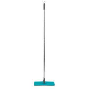 Beldray® LA067234EU Duplex Flat Head Mop and Bucket Set | Built-In Wringer & Dirt-Removing Scraper | Turquoise/Grey Thumbnail 6