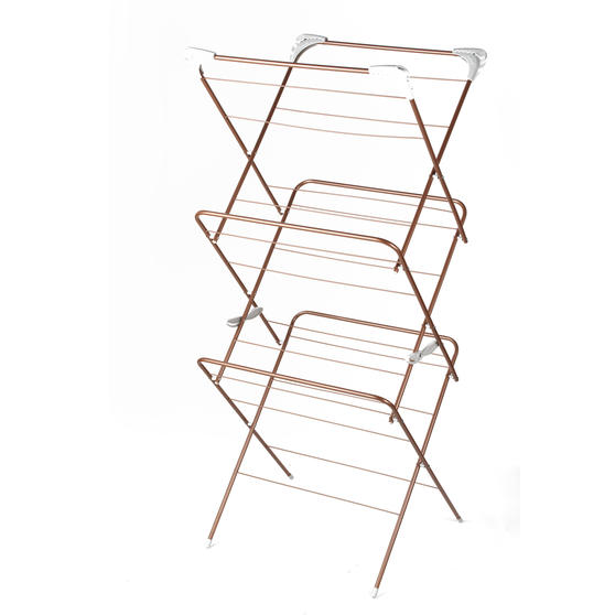 Beldray® Elegant Clothes Airer   15 Metre Drying Space   Rose Gold