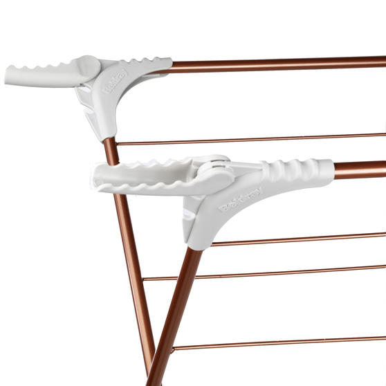 Beldray® Elegant Clothes Airer   15 Metre Drying Space   Rose Gold Thumbnail 2