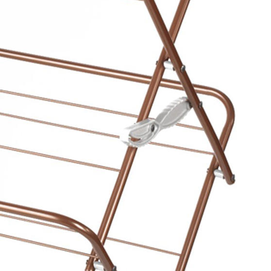 Beldray® Elegant Clothes Airer   15 Metre Drying Space   Rose Gold Thumbnail 4