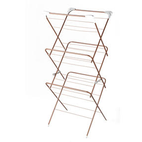 Beldray® LA072498NROSEEU Elegant Clothes Airer | 15 Metre Drying Space | Rose Gold