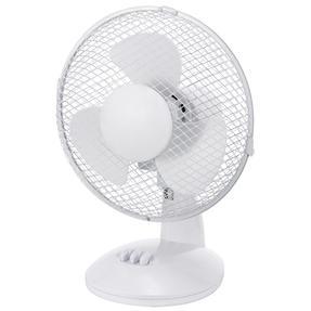 Beldray® EH3197 Oscillating 9? Desk Fan | Adjustable Head | 2 Speed Settings | 3 Fan Blades | Plastic | 25 W | White Thumbnail 4