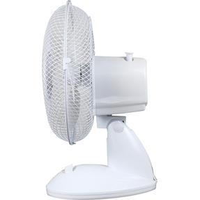 Beldray® EH3197 Oscillating 9? Desk Fan | Adjustable Head | 2 Speed Settings | 3 Fan Blades | Plastic | 25 W | White Thumbnail 5