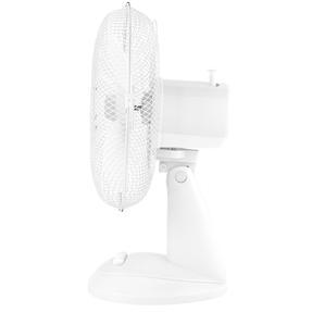 Beldray® EH3198 Oscillating 12? Desk Fan | Adjustable Head | 3 Speed Settings | 3 Fan Blades | Plastic | 35 W | White Thumbnail 3