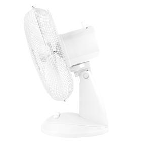 Beldray® EH3198 Oscillating 12? Desk Fan | Adjustable Head | 3 Speed Settings | 3 Fan Blades | Plastic | 35 W | White Thumbnail 4