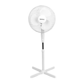 Beldray® EH3249 16 Inch Pedestal Fan | Oscillating Head | 3 Speeds | 125 cm | White Thumbnail 1