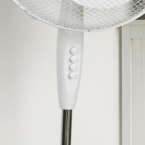 Beldray® EH3249 16 Inch Pedestal Fan | Oscillating Head | 3 Speeds | 125 cm | White Thumbnail 10