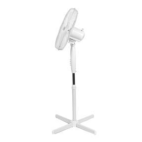 Beldray® EH3249 16 Inch Pedestal Fan | Oscillating Head | 3 Speeds | 125 cm | White Thumbnail 3