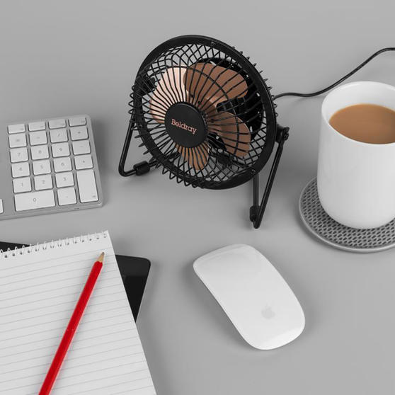 Beldray® USB Mini Desktop Tilting Cooling Office Fan | 4"