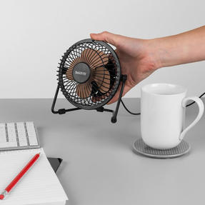 Beldray® EH2665RG USB Mini Desktop Tilting Cooling Office Fan | 4"