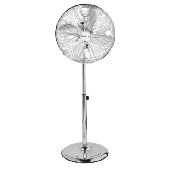 "Beldray® EH3263CH 16"" Pedestal Fan with Adjustable Height 