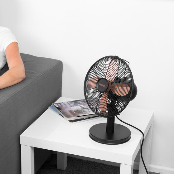 "Beldray® 10"" Desk Fan with 3 Speed Settings and Adjustable Head 
