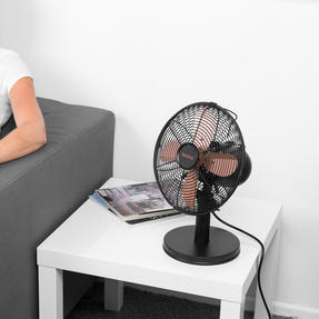 """Beldray® EH3266RG 10"""" Desk Fan with 3 Speed Settings and Adjustable Head   30 W   Rose Gold Thumbnail 4"""