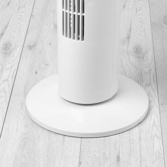 Beldray® 32 Inch Tower Fan With Timer, White Thumbnail 4
