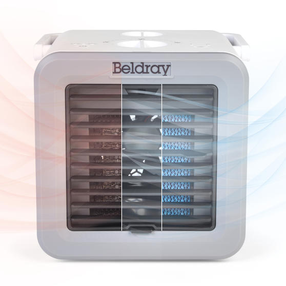 Beldray® Climate Cube   Portable Climate Controller with Heating and Cooling Functions   500/5 W