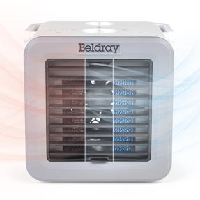 Beldray® EH3327 Climate Cube | Portable Climate Controller with Heating and Cooling Functions | Adjustable Temperature | 2 Fan Speeds | Multi-Season Unit | 500/5 W