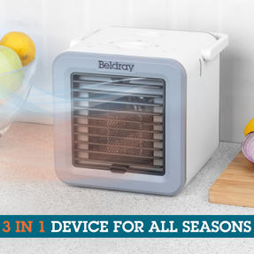 Beldray® EH3327 Climate Cube | Portable Climate Controller with Heating and Cooling Functions | Adjustable Temperature | 2 Fan Speeds | Multi-Season Unit | 500/5 W Thumbnail 3