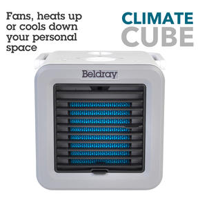 Beldray® EH3327 Climate Cube | Portable Climate Controller with Heating and Cooling Functions | Adjustable Temperature | 2 Fan Speeds | Multi-Season Unit | 500/5 W Thumbnail 4