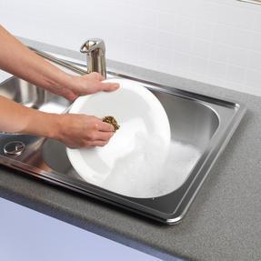Kleeneze® KL072177EU Antibacterial Brass Scourers | Ideal for Pots, Pans and Utensils | 3 Pack Thumbnail 4