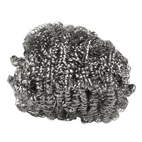 Kleeneze® KL072191EU Essential Stainless Steel Scourers | Made with Recycled Stainless Steel | 4 Pack Thumbnail 4