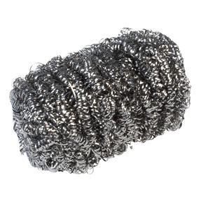 Kleeneze® KL072191EU Essential Stainless Steel Scourers | Made with Recycled Stainless Steel | 4 Pack Thumbnail 7