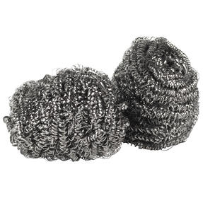 Kleeneze® KL072191EU Essential Stainless Steel Scourers | Made with Recycled Stainless Steel | 4 Pack Thumbnail 8