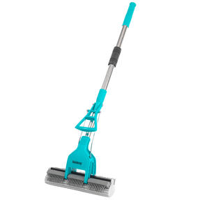 Beldray® LA070678EU Pet Plus+ Slimline PVA Mop & Brush with Telescopic Handle | 90-120 cm | Ideal for Hard Floors