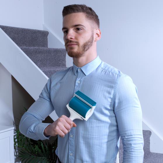 Beldray® Pet Plus+ Handheld TPR Gel Lint Roller with Squeegee Main Image 2