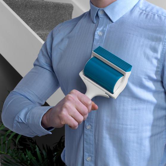 Beldray® Pet Plus+ Handheld TPR Gel Lint Roller with Squeegee Main Image 3