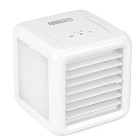 Prolectrix® EH3139V2PRO Ice Cube Plus+ Personal Table Top Air Cooler | 3 Speed Settings | LED Lights | 5 W | 2 x 300 ml Water Tanks | White Thumbnail 1